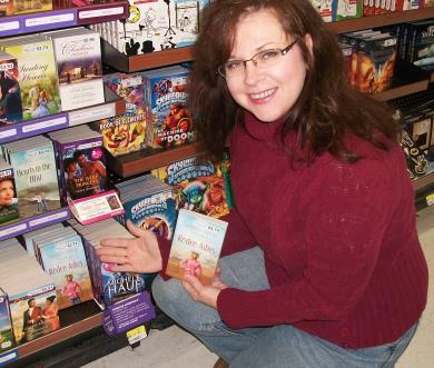 Shannon found her book at Walmart!