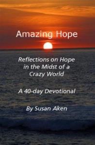 Amazing Hope - cover sunrise and sea