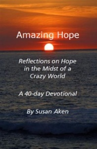 Amazing Hope - cover sunrise and sea