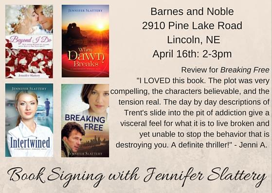 Barnes and Noble April 16