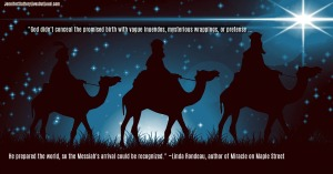 wisemen following the star