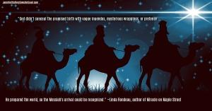 wisemen following the star