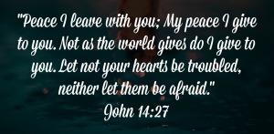 verse image John 14:27