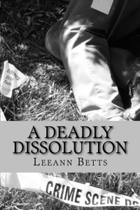 cover image for a Deadly Dissolution