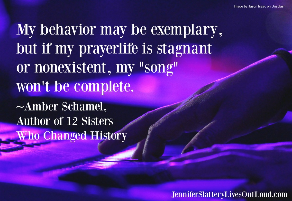Image of someone playing a keyboard with pull quote text