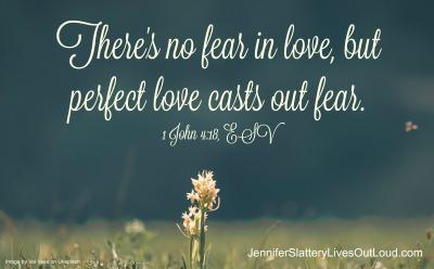 verse image of 1 John 4:18