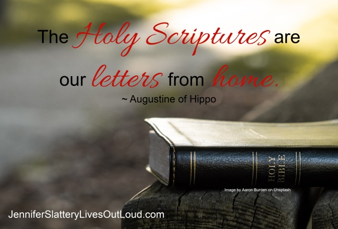 Quote regarding the Bible from Augusting of Hippo