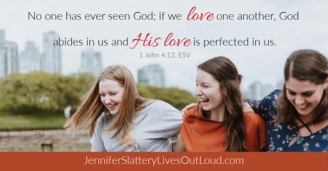 verse graphics 1 John 4:19