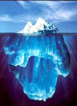 Picture of an iceberg