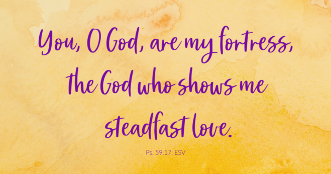 Psalm 59:17b