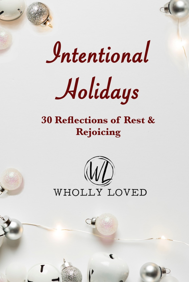 cover for Wholly Loved's devotional