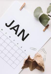 Picture of a calendar