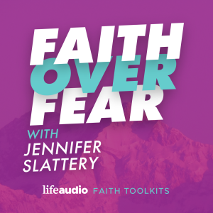 Faith Over Fear podcast episode logo