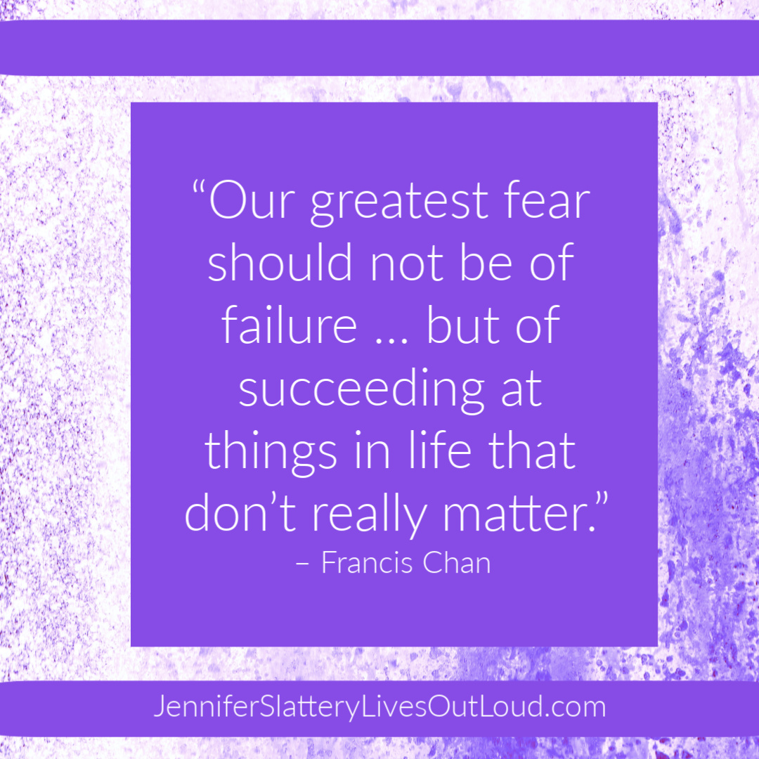 Quote on following God's plan by Francis Chan