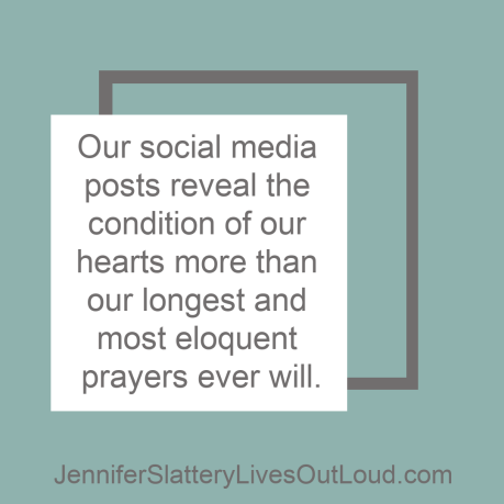 Social media reveals our hearts quote