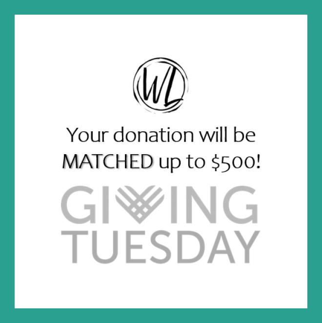 Giving Tuesday donation match logo