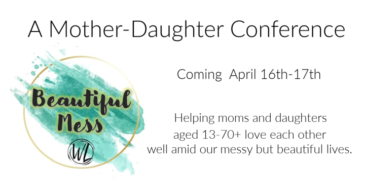 Promo image for mother-daughter conference