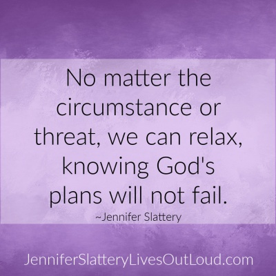 God's plans won't fail on purpose background