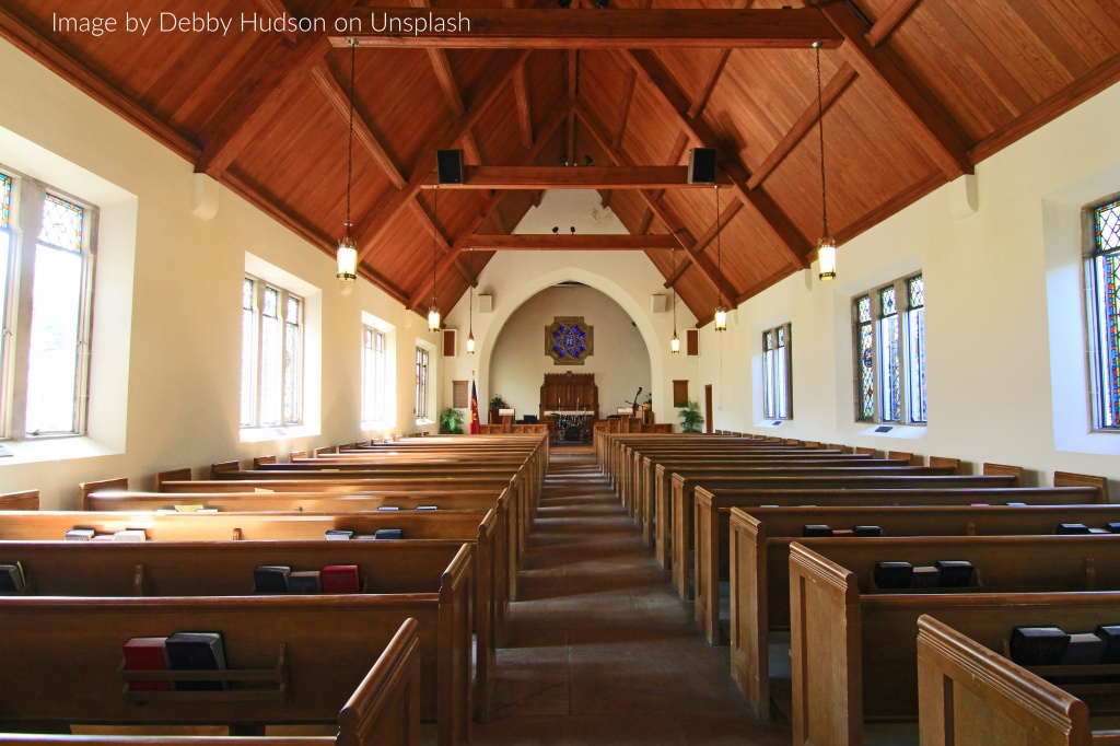 Picture of the inside of a church